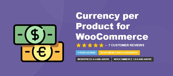 Currency per Product for WooCommerce