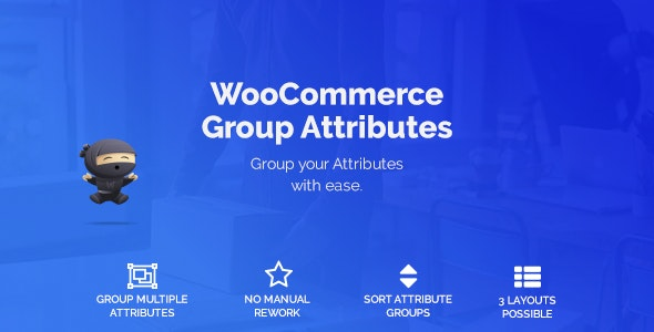 WooCommerce Group Attributes
