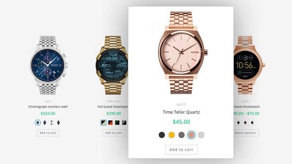 Плагин WooCommerce Variation Swatches