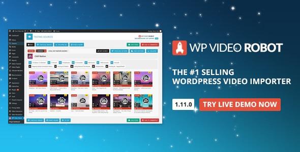WordPress Video Robot Plugin