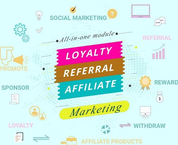 Модуль Loyalty, referral & affiliate program (reward points)