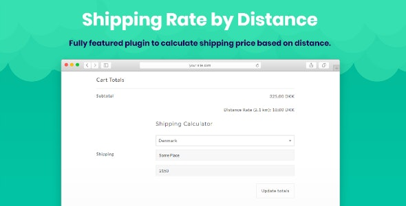 Shipping Rate by Distance for WooCommerce