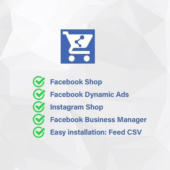 Модуль Facebook & Instagram Shop Catalog Importer